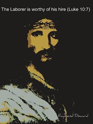 Jesus The Son Art Print by Raymond Doward