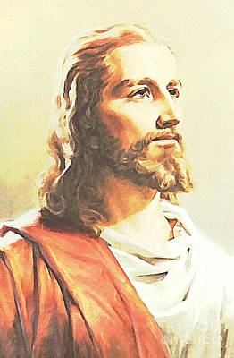 Jesus The Soul Of God Incarnate   Art Print by John Malone
