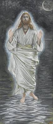 Jacques Painting - Jesus Walks On The Sea by Tissot