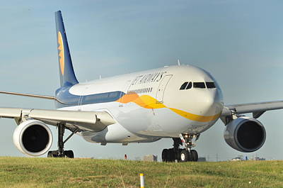 Photograph - Jet Airways by Puzzles Shum