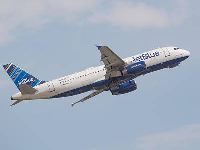 Photograph - Jet Blue by Dart and Suze Humeston