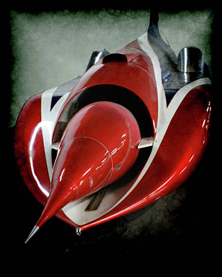 Jet Car Print by Ernie Echols
