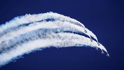 Photograph - Jet Cloud Fort Lauderdale Air Show by Lawrence S Richardson Jr