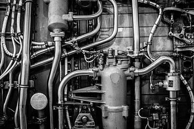 Photograph - Jet Engine by M G Whittingham