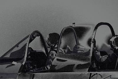 Photograph - Jet Pilots by Karol Livote
