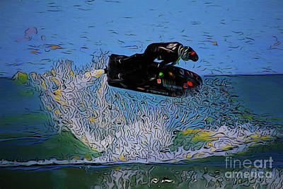Photograph - Jet Ski 20118 by Ray Shrewsberry