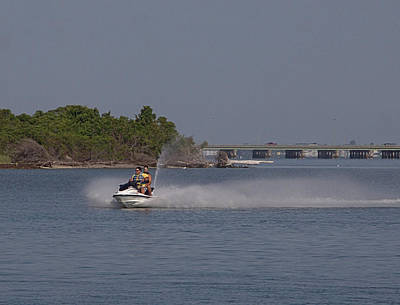 Photograph - Jet Ski by Newwwman