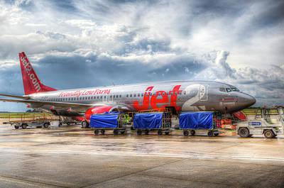 Photograph - Jet2 Boeing 737 by David Pyatt