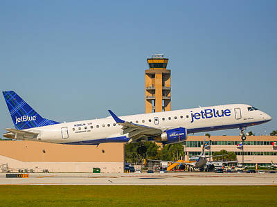 Photograph - Jetblue by Dart and Suze Humeston