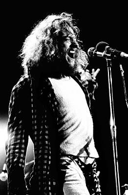 Anderson Photograph - Jethro Tull 1970 by Chris Walter