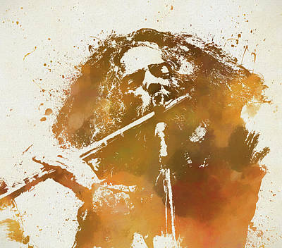 Painting - Jethro Tull by Dan Sproul