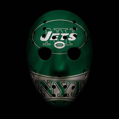 Photograph - Jets War Mask 2 by Joe Hamilton