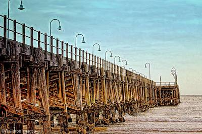 Photograph - Jetty, Coffs Harbour by Wallaroo Images