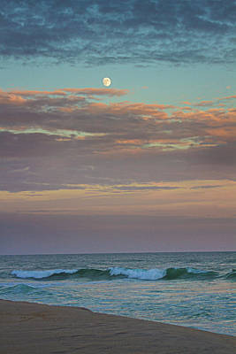 Photograph - Jetty Four Moonrise by Robert Seifert