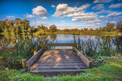 Photograph - Jetty by James Billings