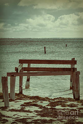 Photograph - Jetty Long Gone by Elaine Teague