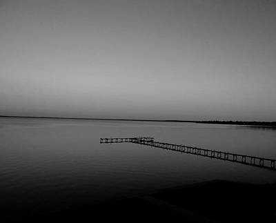 Photograph - Sunset On The Pier by Jenny Regan