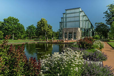 Photograph - Jewel Box In Forest Park by Garry McMichael