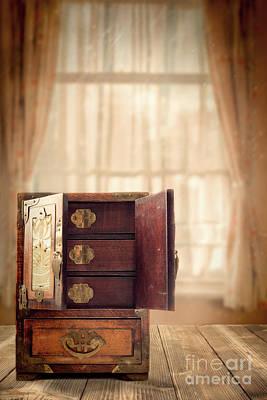 Casket Photograph - Jewel Cabinet by Amanda Elwell