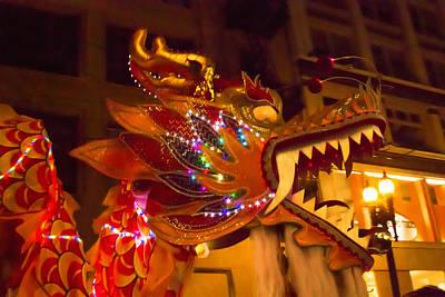 Photograph - Jewel Encrusted Dragon by Bonnie Follett