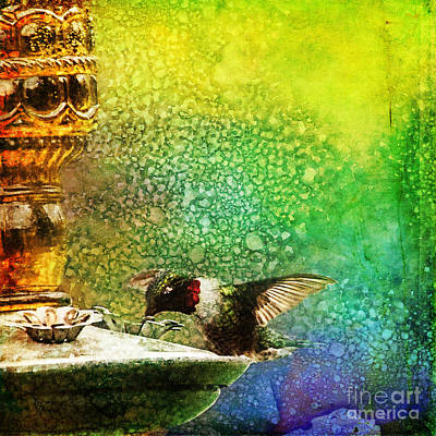 Photograph - Jewel Hummingbird by Christina VanGinkel