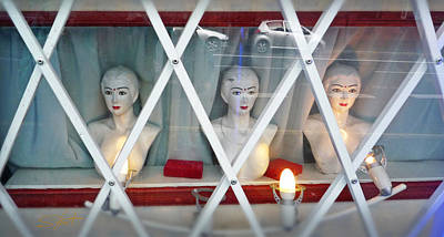 Street Photograph - Jewel In The Town by Charles Stuart