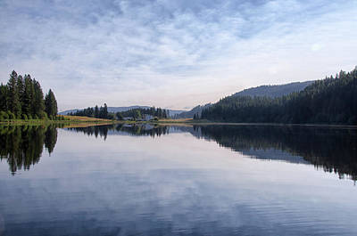 Photograph - Jewel Lake Reflections  by Debra Baldwin