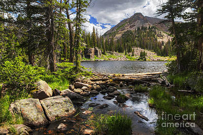 Photograph - Jewel Lake by Spencer Baugh