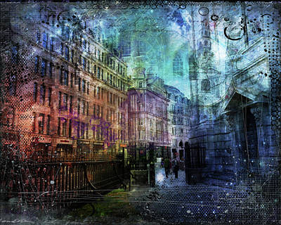 Digital Art - Jewel Night by Nicky Jameson