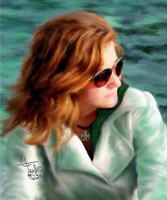 Jewel Of Contemplation Original by Colleen Taylor