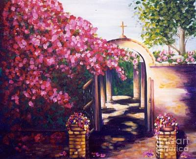 Painting - Jewel Of The Missions by Pat Heydlauff