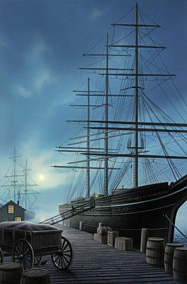 Mast Painting - Jewel Of The North by Jerry LoFaro