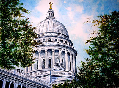 Painting - Jewel Of Wisconsin by Thomas Kuchenbecker