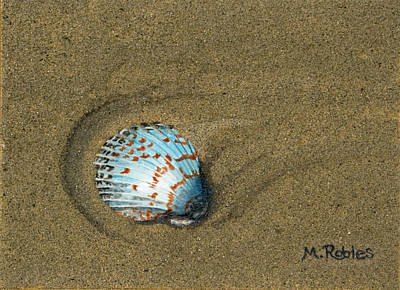 Jewel On The Beach Art Print