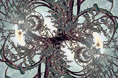 Digital Art - Jewel Tree by Cheryl Charette