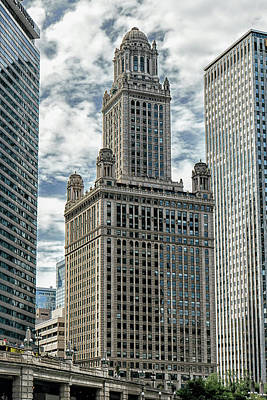 Photograph - Jewelers Building Chicago by Alan Toepfer