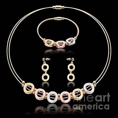 Mixed Media - Jewelry 11 by Dcross International