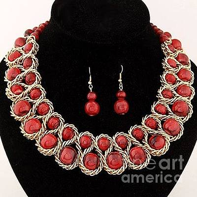 Mixed Media - Jewelry 13 by Dcross International