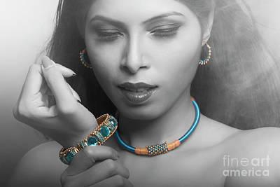 Photograph - Jewelry Love by Kiran Joshi