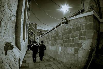 Photograph - Jewish Promenade by Mark Perelmuter