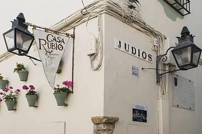 Jewish Heritage Photograph - Jewish Quarter - Cordoba Spain by Jon Berghoff