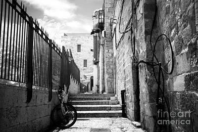 Photograph - Jewish Quarter Street by John Rizzuto