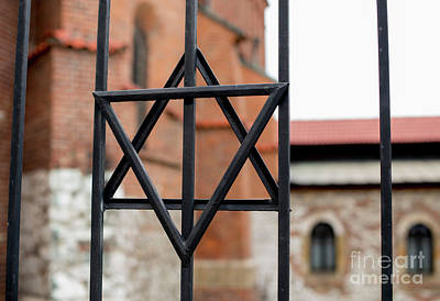 Jewish Symbol Photograph - Jewish Star by Juli Scalzi