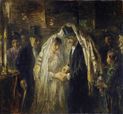 Jewish Wedding Art Print