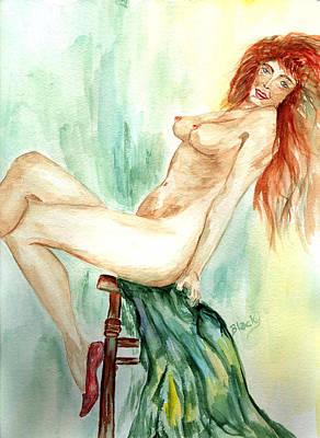 Painting - Jezebel by Donna Blackhall