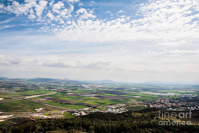 Photograph - Jezreel Valley by Kaitlyn Suter