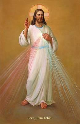 Jezu Ufam Tobie - Jezus Chrystus Art Print