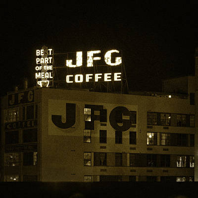 Photograph - Jfg Coffee Vintage Style by Sharon Popek