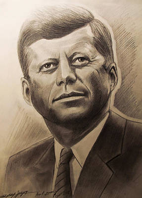 John Fitzgerald Kennedy Original by Gregory Szeps