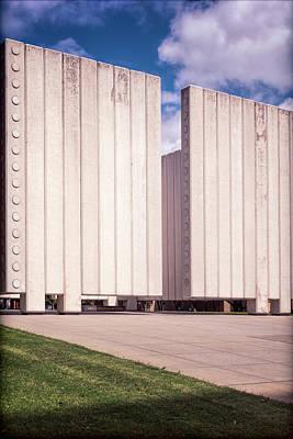 Dallas Photograph - Jfk Memorial II by Joan Carroll